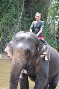 Elephant ride 12